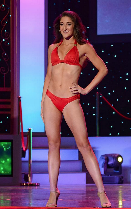 Jess Avelar Rocks Her Body at Miss NH