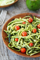 ZUCCHINI NOODLES WITH PESTO - Healthy Eating -Lose Weight - With Integrity Health coaching centers