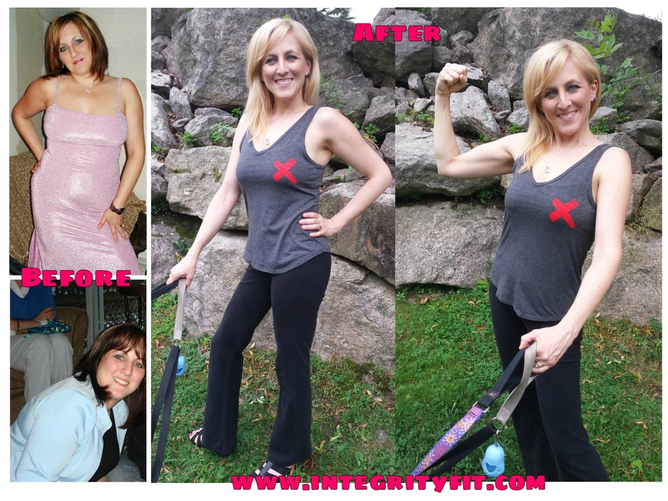 Weight Loss. The Struggle. The Determination. The Success! All with Integrity Health Coaching Centers & Gyms in NH!