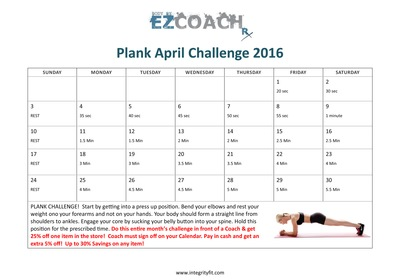 Another Integrity Health Coaching Fitness Challenge
