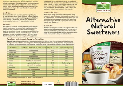 Alternative Natural Sweeteners
