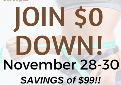 Join during November 28 - 30 and pay ZERO down!