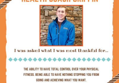 Health Coach Griffin in North Conway