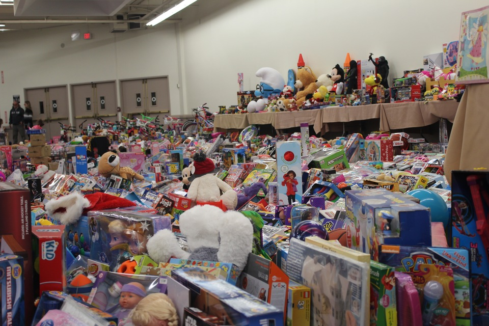 Amazing results from our toy drive with Recycled Percussion Foundation