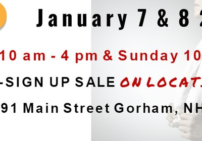SAVE THE DATE! Jan 7 and 8! Pre-sign up and tour of the new Gorham Location!