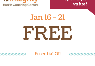 Free Essential Oil Sale at Integrity health coaching centers!
