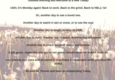Ugh! It's Monday - Levi Moore
