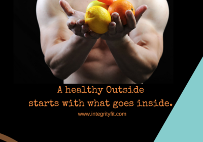 A healthy outside starts with what goes inside!