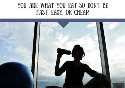 It's true - you are what you eat!