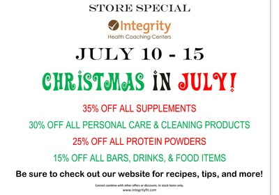 Christmas in July MEGA SALE!