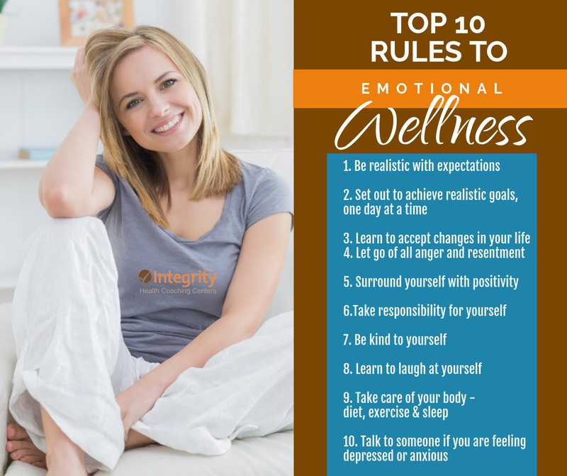 Top 10 Rules to Emotional Wellness!