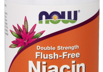 Niacin 500 mg, Double Strength Flush-Free Veg Capsules