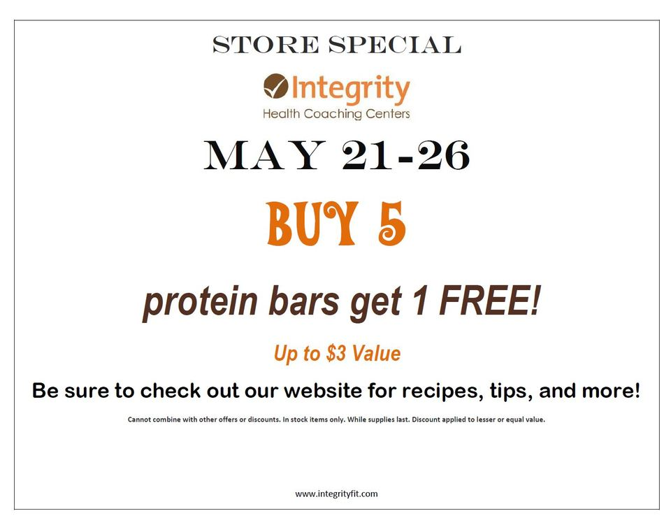 Store Special May 21-26