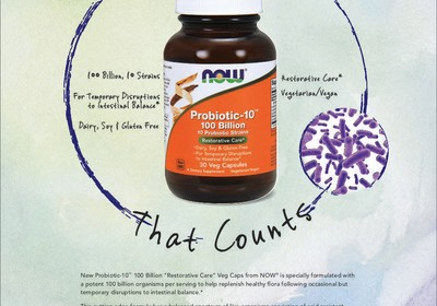 Probiotics can support a healthy gut and immunity.