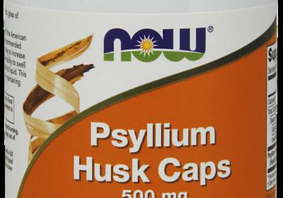 Psyllium Husk 500 mg Capsules