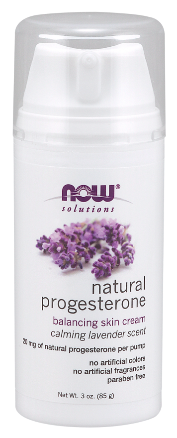Natural Progesterone Balancing Skin Cream with Lavender