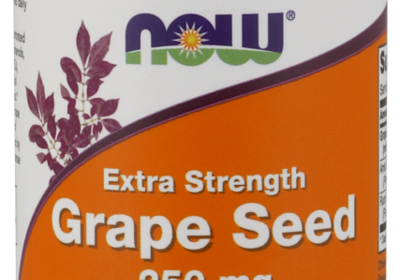 Grape Seed, Extra Strength 250 mg Veg Capsules