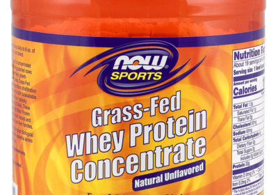 Grass-Fed Whey Protein Concentrate, Unflavored Powder