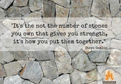 Wise words of Steve Gamlin!