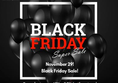 Black Friday Super Sale!!!